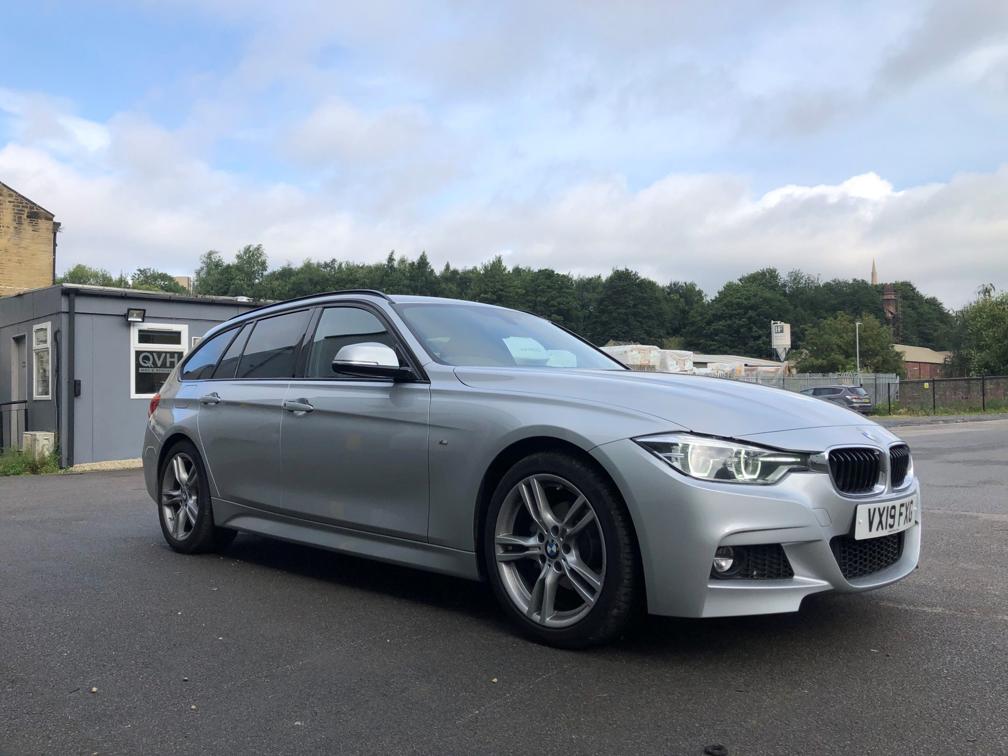 silver BMW M3 for Lease