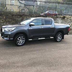 Grey Hilux Invincible X Flexible Lease