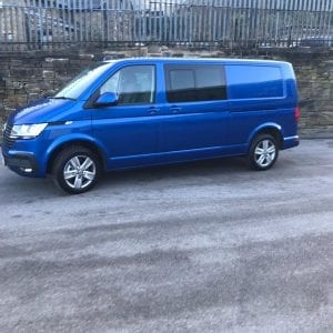 Blue Transporter T6 For Lease Side