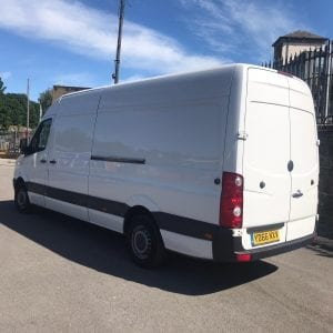 White long wheel base VW Crafter Van for sale