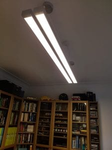 New Office Light Fitted by Flora Electrical Services In Chapel Allerton, Leeds