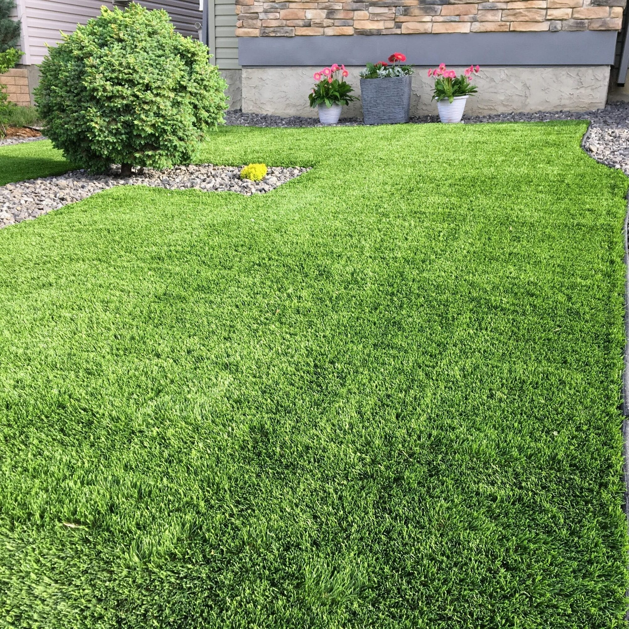 Artificial Lawn Layed in Barnsley