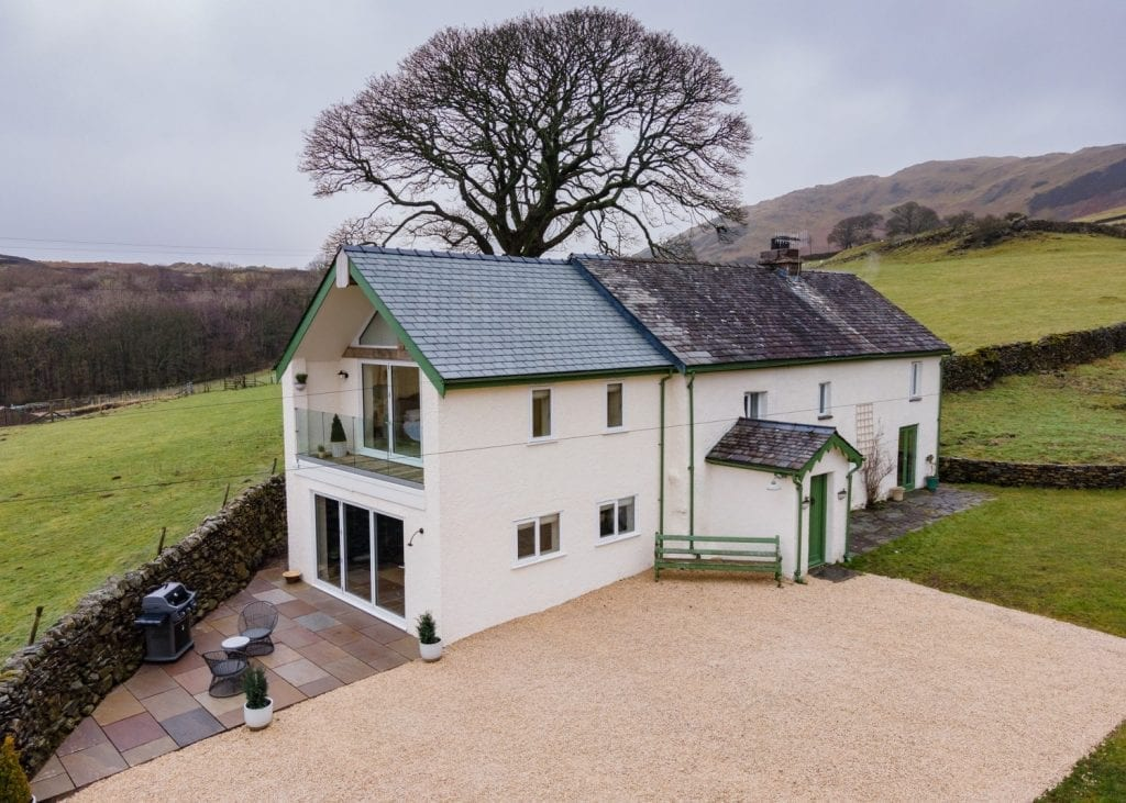 House extension by Wolfe Design Build in Cumbria, The Lake District