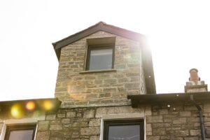 Traditional front gable dormer loft conversion built in cumbria, the lake district by Wolfe Design & Build